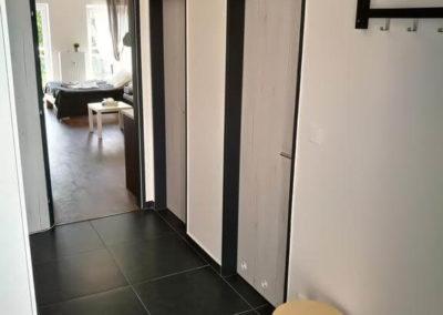 Chodba v apartmánu Bratislavská