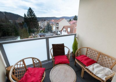 Terrace in apartment Horova