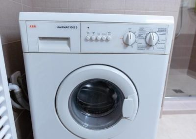 Washing machine in apartment Horova