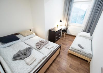 Separate bedroom in Horova apartment
