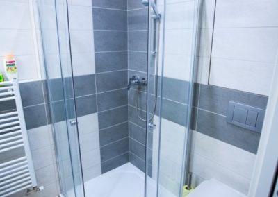 Koupelna apartmánu Haasova 2NP