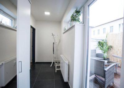 Corridor of apartment Bratislavská