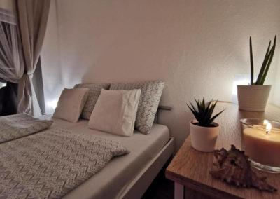 Ložnice apartmánu Bratislavská