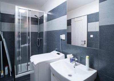 Koupelna apartmánu Bratislavská